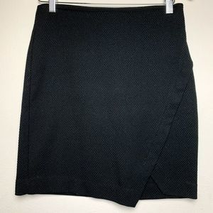 Ann Taylor Loft Black Wrap Skirt | 2P
